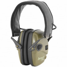 Howard Leight Impact Sport Electronic Earmuffs - Green