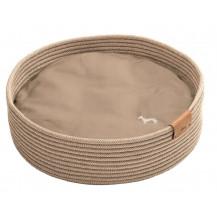 Hunter Pets Graz Indoor Handcrafted Dog Bed Basket – Tan, 50cm