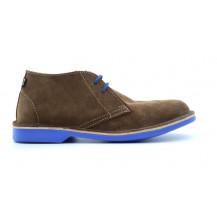 Veldskoen Heritage J-Bay Shoe - Blue Sole, UK Size 3