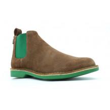 Veldskoen Chelsea Lowveld Boot - Green Sole, UK Size 3