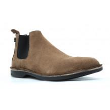 Veldskoen Chelsea Safari Boot - Black Sole, UK Size 3