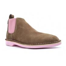 Veldskoen Chelsea Uhambo Boot - Pink Sole, UK Size 3