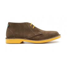 Veldskoen Heritage Vilakazi Shoe - Yellow Sole, UK Size 3