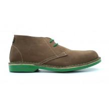 Veldskoen Heritage Lowveld Shoe - Green Sole, UK Size 3