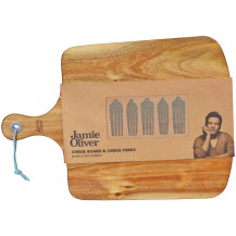 Jamie Oliver Cheese Board with Fork Markers