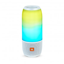 JBL Pulse 3 Wireless Speaker With 360 Lightshow - White