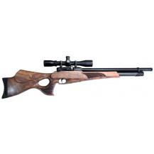 JKHan Noblesse Thumbhole PCP Air Rifle - 5.5mm, Walnut - main