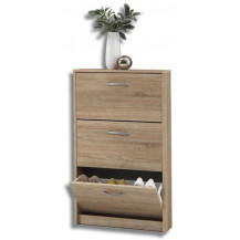 Kaio Perugia 3 Drawer Shoe Cabinet