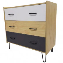 Kaio Salerno 3 Chest of Drawers