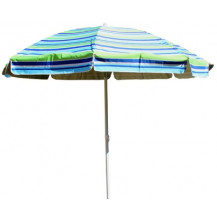 Kaufmann 8-Rib Beach Umbrella - 2.25m
