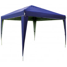 Kaufmann Concertina Gazebo with Air Vent - Blue