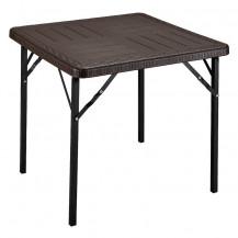 Kaufmann HDPE Folding Table - 78 x 78 cm