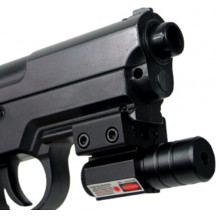 AT Laser Sight - Red Dot - In Use - Airgun NOT Included