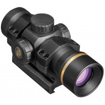 Leupold Freedom RDS 1X34mm Red Dot Sight Scope - 1.0 MOA W/Mount - Front View