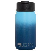Lizzard Flask - 415 ml, Navy Ombre