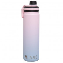 Lizzard Flask - 650 ml, Pink/Blue Ombre