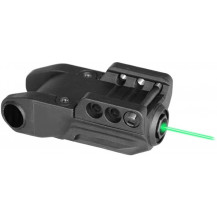 Compact Laser Rifle Sight - Green