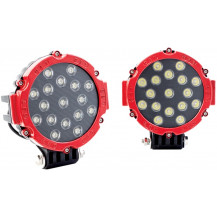 Lumeno Slim Line Spot Lights Set of 2 - 3570 Lumen / 200m, Red