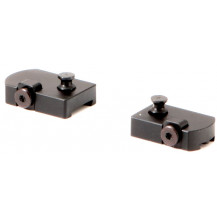 Lynx 1839 2-Piece Stud Base Mount for BSA CF2 & Monarch with Round Receiver