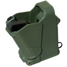Maglula UpLULA Universal Pistol Magazine Loader – 9mm to 45ACP, Dark Green