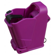 Maglula UpLULA Universal Pistol Magazine Loader – 9mm to 45ACP, Purple