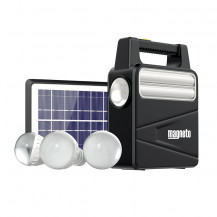Magneto Solar Home Lighting System