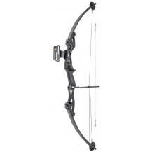 Man Kung MK-CB55SB Compound Bow - 55LBS, Black