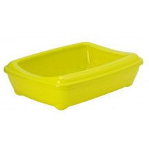 McMac Arist-O-Tray and Rim Litter Tray - Jumbo, Lemon Yellow