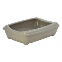 McMac Arist-O-Tray and Rim Litter Tray - Jumbo, Warm Grey