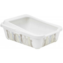 McMac Hercules Cat Tray and Rim Litter Tray - Maasai