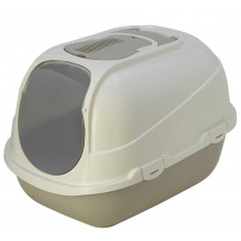 McMac Mega Comfy Cat Litter Box - Warm Grey