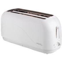 Mellerware Eco 4 Slice Plastic Toaster - 1300W, White