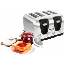 Mellerware Sigma 4 Slice Stainless Steel Toaster