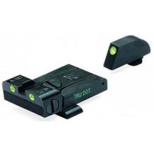 Meprolight Glock Tru-Dot Night Sight (TD Adj. G17,19,20,21,22,23 set) (Green)