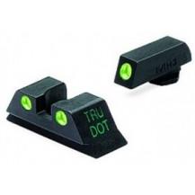 Meprolight Glock Tru-Dot Night Sight (TD fixed G43) (Glock 43) (Green)