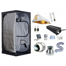 Mammoth Grow Tent Combo - 100 x 100 cm, 600W HID Air-Cooled