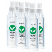 Microgarden Liquid Hand Sanitiser - 250ml, 6 Pack