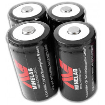 Minelab NIMH 4500 Battery Pack - 4 Pack