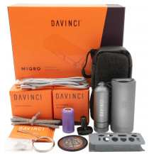 Davinci MIQRO Explorer Vape Collection - Graphite