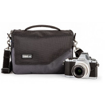 Think Tank Mirrorless Mover 20 Shoulder Bag - Pewter Grey front view - Camera Equipment NOT Included
