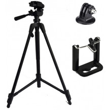 MiVision 5858D Tripod - With Smartphone & GoPro Adapter