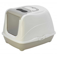 McMac Flip Cat Litter Box - Warm Grey
