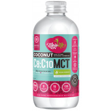 MojoMe Low-Carb 100% Pure Coconut MCT Oil Dietary Supplement - 500ml, 6 Pack - Front View