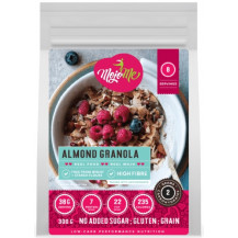 MojoMe Low-Carb Ready-To-Eat Almond Baked Granola - 300g, 6 Pack - Front View