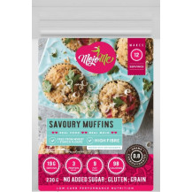 MojoMe Low-Carb Savoury Muffins PreMix - 230g, 6 Pack - Front View