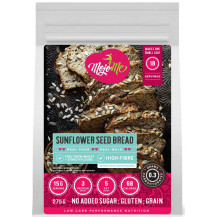 MojoMe Low-Carb Sunflower Seed Bread PreMix - 275g, 6 Pack - Front View