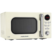 Morphy Richards Accents Stainless Steel Microwave - 800W, Cream