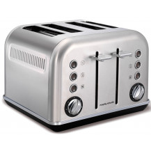 Morphy Richards Accents Stainless Steel Toaster - Brushed