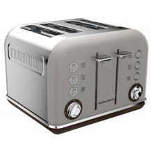 Morphy Richards Accents Stainless Steel Toaster - Pebble