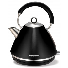 Morphy Richards Brushed Accents Kettle - Black